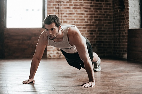 pushups are a heart disease predictor