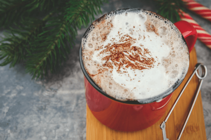 Bulletproof Peppermint Mocha